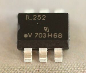 Il252 x009t Optocoupler Phototransistor Output Input Base Connection Pdip 100pcs