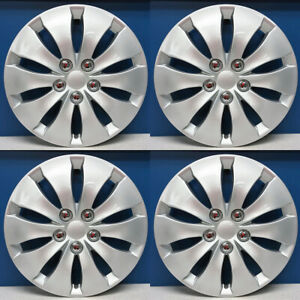 2008 2012 Honda Accord Lx Style 439 16s 16 Snap On Hubcaps Wheel Covers Set 4