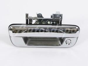 For 2004 2012 Chevy Colorado Gmc Canyon Tailgate Handle Chrome With Lock Hole