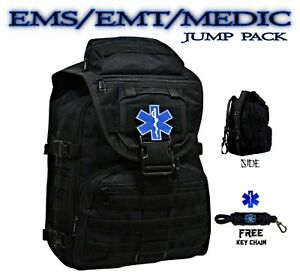 Emt Medic First Responder Backpack Duty Bag First Aid Emergency Kit Free Ship