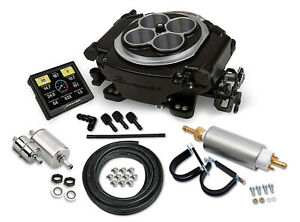 Holley Sniper Efi 550 511k Black Ceramic Self Tuning Fuel Injection Master Kit