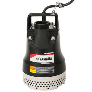Yamaha Sp20esm 1 2 Hp 68 Gallon Electric Dewatering Submersible Trash Pump
