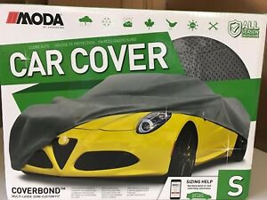 New Moda By Coverking Car Cover Multi Layer Semi Custom Fit Small 13 2 14 2