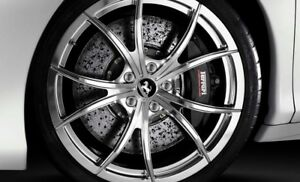 20 Oem Ferrari 458 Optional Multi spoke Lightweight Ball Polished Wheels Rims