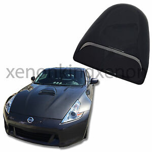 Jdm Sport 1x Hood Scoop Smoke Black Universal Air Flow Front Cover Vent a20 Car