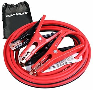 Cartman Booster Cables In Carry Bag 8 Gauge 16 Feet Jump Cable