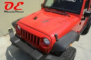 Ko Off Road Power Dome Hood Angry Grill Jeep Wrangler Jk 07 16 Made In Usa