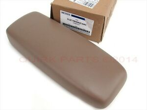 Ford Explorer Sport Trac Tan Center Console Armrest Pad Cup Holder Oem New
