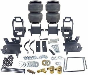 Air Bag Helper Springs Kit With 4 Ply Airbags No Drill 1999 2004 Ford F250 F350