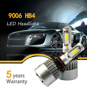 Pair 9006 Hb4 9005 980w 147000lm Car Led Headlight Bulbs Kit 6000k White