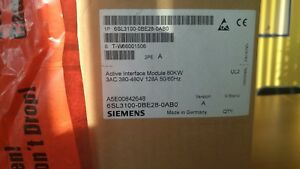 Siemens Sinamics S120 Active Interface Module For 80kw 6sl3100 0be28 0ab0