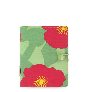 Filofax Pocket Size Flower Cover Notebook Diary Agenda Schedule Organiser 022538