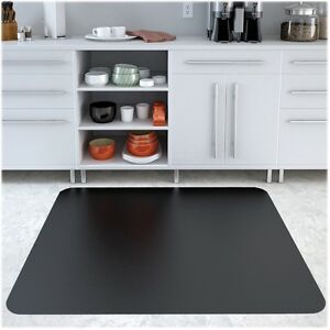 Deflecto Rectangular Chairmat Hard Floor 46 x60 Black Cm21442fblk