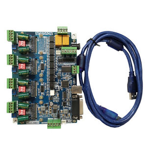 4 Axis Cnc Usb Mach3 Motion Controller Card Interface Breakout Driver Board