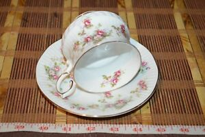 Queen S Rosina China Rosamund Roses Cup And Saucer
