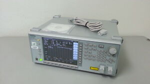 Anritsu Ms9740a Optical Spectrum Analyzer 600nm 1750nm Option 001 002 037
