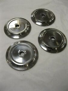 1956 Ford Pickup Truck Stainless Door Handle Escutcheons Set 4