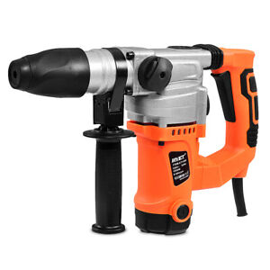 Electric Rotary Hammer Drill 1 Sds Three Function Combo 1000w W chisel Kit New