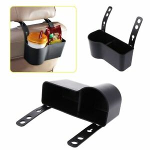 Universal Car Headrest Seat Back Mount Organizer Cup Drink Holder Storage Box