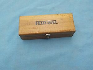 Federal No M 2 Testmaster Dial Test Indicator Iob With Attachments