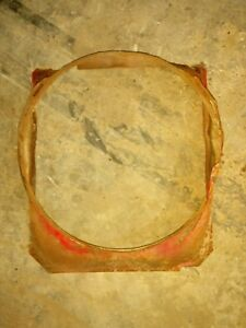Farmall 400 450 Tractor Original Ih Ihc Engine Motor Radiator Fan Shroud Cover