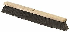 Renown Fine medium Floor Sweep Broom 36 Long With 3 Trim Polypropylene