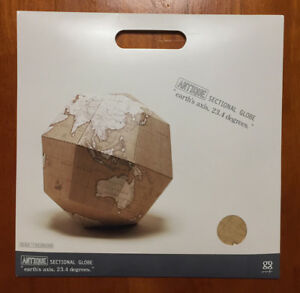 Geografia Prefabricated Globe Antique Earth S Axis 23 4 Degrees F S New Japan