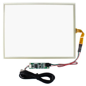 12 1 4 Wire Touch Panel Usb Controller Card For 12 1inch 1024x768 Lcd Screen