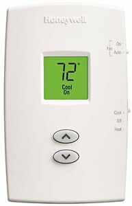 Honeywell Pro 1000 Heat Pump Thermostat Vertical Non programmable Premier Wh