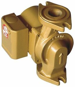 Bell Gossett Nbf 12f lw Bronze Wet Rotor Circulator Pump