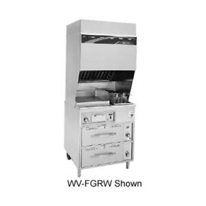 Wells Wv fgrw Electric Ventless Cooktop With 2 Drawer Warmer Base