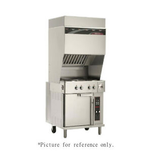 Wells Wvo 4hf Electric Ventless Cooktop With 4 French Plates Convection Oven
