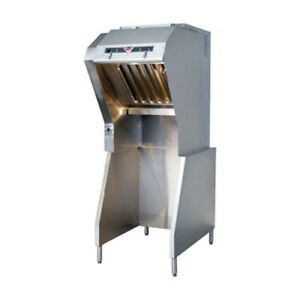 Wells Wvu 26 Universal Ventless Hood For 26 Cooking Zones