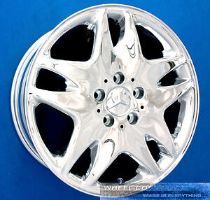 Mercedes S430 S500 Cl500 17 Inch Chrome Wheel Exchange S 430 S Cl 500 17 Rims