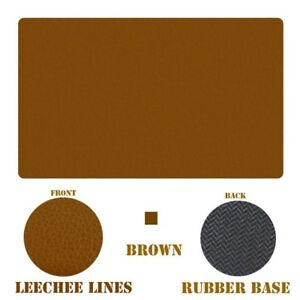 Seekermaker 24 14 Synthetic Leather Desk Mat Mouse Pads large Mouse Pad Brown