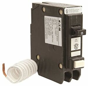 Eaton Cl Series Single Pole Classified Gfci Breaker Self test 120 240 Volt 1