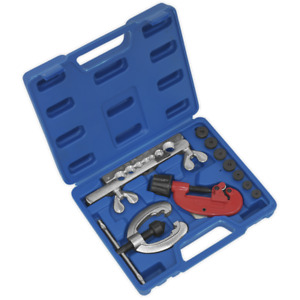 Sealey Copper Brake Pipe Flaring Tool Kit With Cutter Ak506