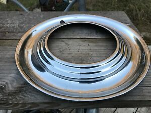 Hubcap Beauty Ring Trim Ring 40 s 50 s Ford Mercury Dodge Plymouth Buick Chevy