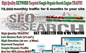 500 000 Keywords Targeted Traffic To Boost Alexa And Dominate Google
