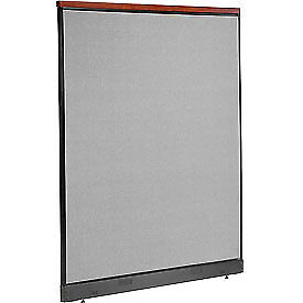 Interion 8482 Deluxe Office Cubicle Panel With Pass Thru Cable 60 1 4 w X 77