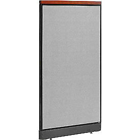 Interion 8482 Deluxe Office Cubicle Panel With Pass Thru Cable 36 1 4 w X 65