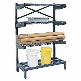 Cantilever Rack Shelving 60 W X 24 D X 72 H 600 Lbs Capacity