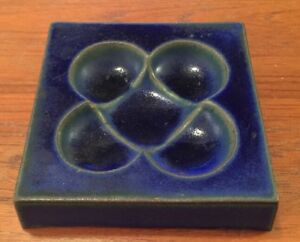 David Gil Ceramic Ashtray Dish Bennington Potters Mid Century Modern 1960s