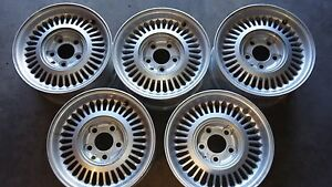 93 Jaguar Xj6 Oem Wheels 15x7 36 Slot Free Shipping