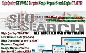 Dominate Google With 3 Million Keywords Targeted Traffic And Boost Alexa Ranks