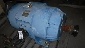 300 Hp Siemens Electric Motor 1800 Rpm 449t Frame Dp 460 V Vfd