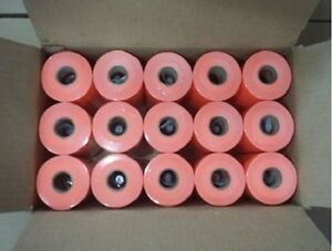 Monarch 1110 Pricing Gun Label Fluorescent Red 15 Sleeves Of 16 Rolls