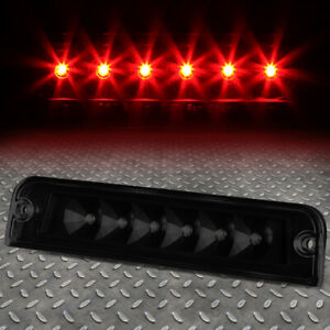 For 97 06 Jeep Wrangler Tj Led Third 3rd Tail Brake Light Rear Stop Lamp Tinted