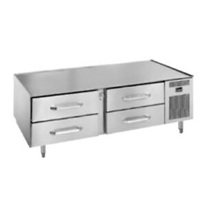 Randell 20072sc Two Section Refrigerated Base Equipment Stand 4 27 Drawers