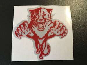 Sticker Tiger Red Motorcycle Helmet Scooter Bicycle Retro Reflective